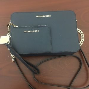 Michael Kors Large Crossbody Bag & wallet set
